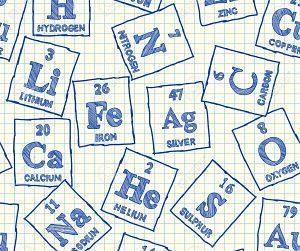 elementos de la tabla periódica metales