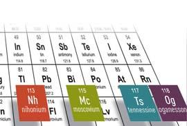 elementos de la tabla periódica y sus símbolos