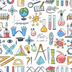 dibujo del esqueleto de la tabla periodica